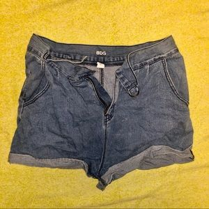BDG Urban Outfitters denim high waisted shorts